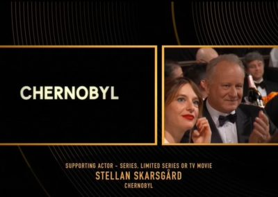 77th Golden Globe Awards broadcast graphics package