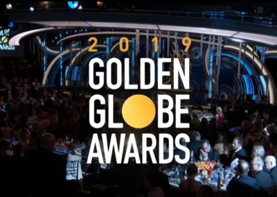 Golden Globe Awards 2019 graphics package