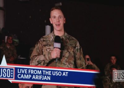 The World's Biggest USO Tour